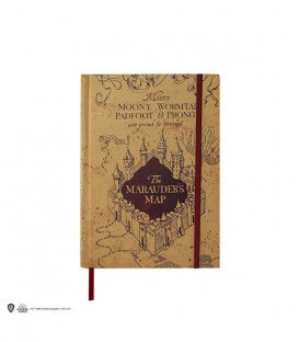 Marauder Notebook and Small Map  Harry Potter
