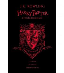 Livre Harry Potter à l'école des Sorciers Gryffondor Edition Collector