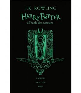 Livre Harry Potter à l'école des Sorciers Serpentard Edition Collector