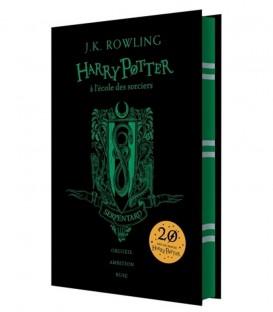 Livre Harry Potter à l'école des Sorciers Serpentard Edition Collector,  Harry Potter, Boutique Harry Potter, The Wizard's Shop