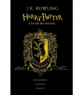 Livre Harry Potter à l'école des Sorciers Poufsouffle Edition Collector