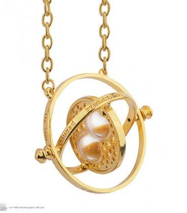 Time Turner Necklace Harry Potter