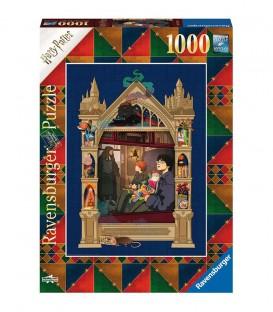 """Puzzle """" Harry Potter en route vers Poudlard"""" 1000 pièces par Minalima"""