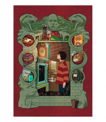 """Puzzle """" Harry Potter Chez les Weasley"""" 1000 pièces par Minalima,  Harry Potter, Boutique Harry Potter, The Wizard's Shop"""
