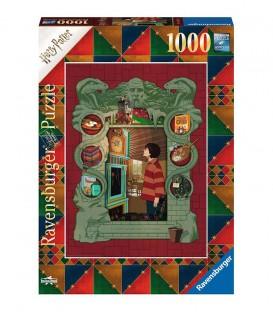 """Puzzle """" Harry Potter Chez les Weasley"""" 1000 pièces par Minalima"""