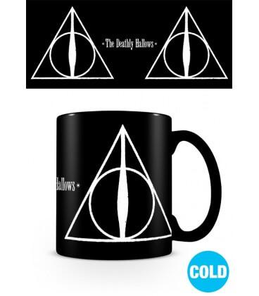 Mug The Deathy Hallows Effet Thermique,  Harry Potter, Boutique Harry Potter, The Wizard's Shop