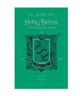 Livre Harry Potter et la Chambre des Secrets  Serpentard Edition Collector