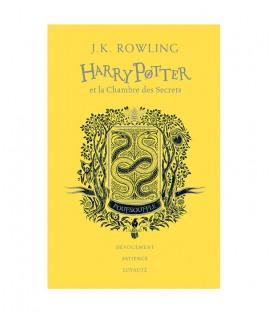 Livre Harry Potter et la Chambre des Secrets Poufsouffle Edition Collector