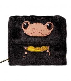 Fantastic Beasts Niffleur Plush Wallet by Loungefly