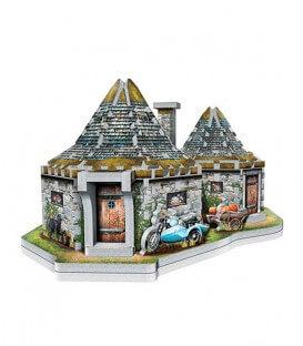 Puzzle 3D - Hutte d'Hagrid Wrebbit,  Harry Potter, Boutique Harry Potter, The Wizard's Shop
