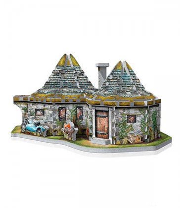 3D Puzzle - Hagrid's Hut Wrebbit