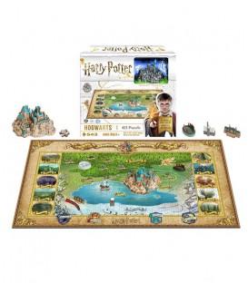Puzzle 4D - Le Monde des Sorciers - 892 pcs Harry Potter