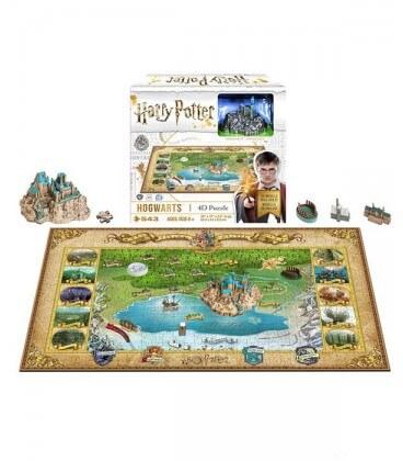 Puzzle 4D - Le Monde des Sorciers - 892 pcs Harry Potter,  Harry Potter, Boutique Harry Potter, The Wizard's Shop