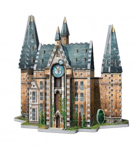 Hogwarts - Clock tower - puzzle 3D Wrebbit