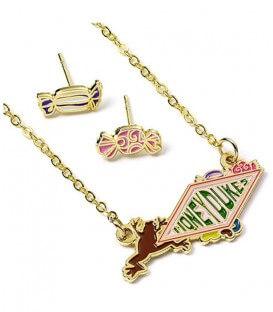 Set collier et boucles d'oreille Honeydukes - Harry Potter,  Harry Potter, Boutique Harry Potter, The Wizard's Shop