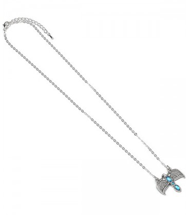 Silver Plated Tiara Necklace Harry Potter