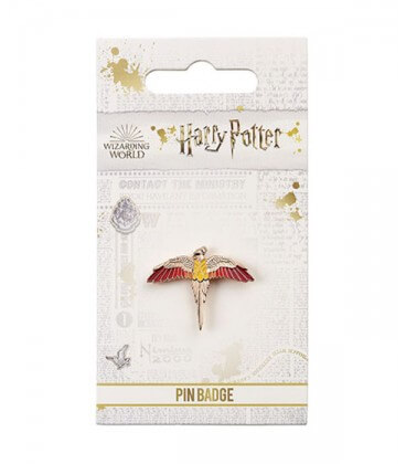 Pin's Fumseck plaqué or rose - Harry Potter,  Harry Potter, Boutique Harry Potter, The Wizard's Shop