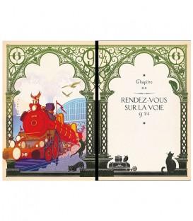Livre Harry Potter à l'école des Sorciers illustré par MinaLima (FRANCAIS),  Harry Potter, Boutique Harry Potter, The Wizard'...