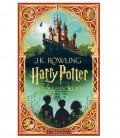 Livre Harry Potter à l'école des Sorciers illustré par MinaLima (FRANCAIS)