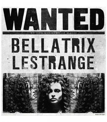 Poster - Wanted Bellatrix MinaLima