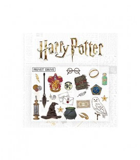 22 grands Stickers Muraux repositionnables Harry Potter