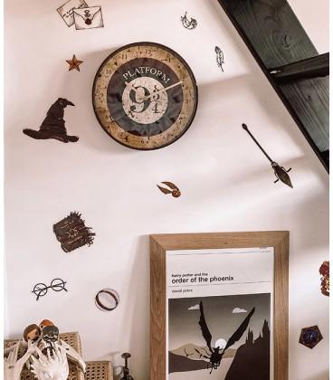 22 grands Stickers Muraux repositionnables Harry Potter,  Harry Potter, Boutique Harry Potter, The Wizard's Shop