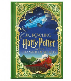 Harry Potter Book and The Chamber of Secrets illustrated by MinaLima (FRENCH)