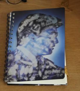 Harry Potter Magic Portrait 3D Cover A5 Wiro Notebook