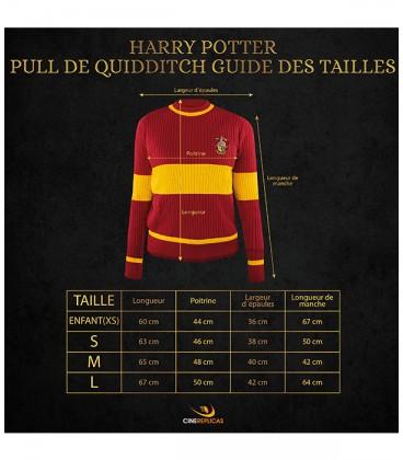 Pull de Quidditch Gryffondor Enfant,  Harry Potter, Boutique Harry Potter, The Wizard's Shop