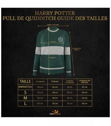 Pull de Quidditch Serpentard,  Harry Potter, Boutique Harry Potter, The Wizard's Shop