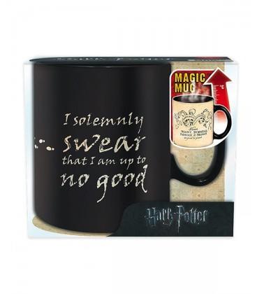 Grand Mug Thermoreactif Carte du Maraudeur,  Harry Potter, Boutique Harry Potter, The Wizard's Shop