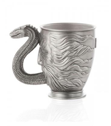 Pewter Collectible Basilisk Mug