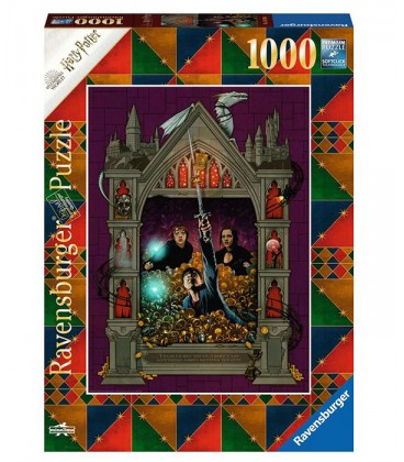 """Puzzle """" Harry Potter et les Reliques de la Mort partie 2"""" 1000 pièces par Minalima,  Harry Potter, Boutique Harry Potter, Th..."""