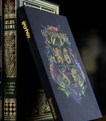 Carnet A5 Floral Hogwarts,  Harry Potter, Boutique Harry Potter, The Wizard's Shop