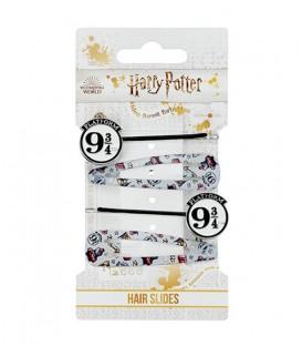Ensemble barrettes Plateform 9 3/4,  Harry Potter, Boutique Harry Potter, The Wizard's Shop