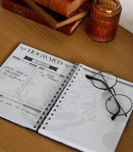 Cahier de texte A5 Harry Potter Poudlard,  Harry Potter, Boutique Harry Potter, The Wizard's Shop