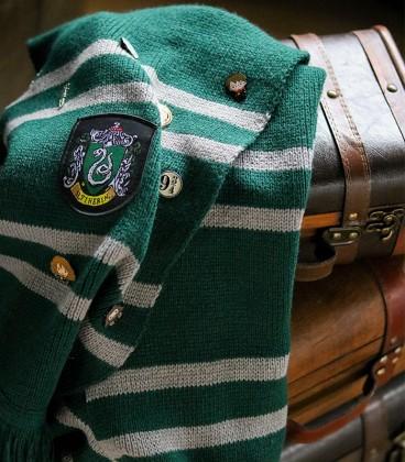 Echarpe - Maison Serpentard,  Harry Potter, Boutique Harry Potter, The Wizard's Shop