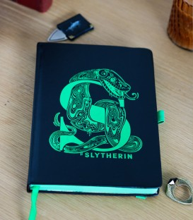 Carnet A5 Premium Harry Potter Serpentard