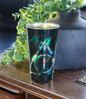 Gobelet en verre Reliques de la mort,  Harry Potter, Boutique Harry Potter, The Wizard's Shop