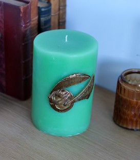 Golden Snitch Decorative Candle