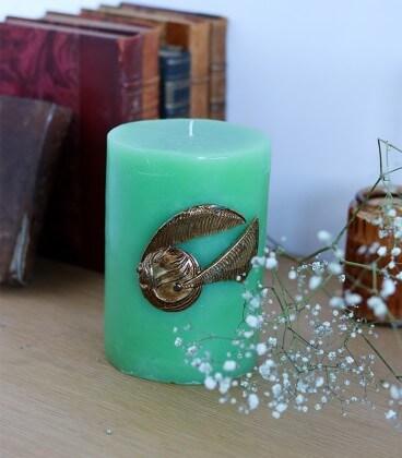 Bougie Décorative Vif d'or,  Harry Potter, Boutique Harry Potter, The Wizard's Shop