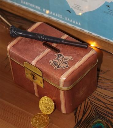Tirelire Magique Valise Poudlard,  Harry Potter, Boutique Harry Potter, The Wizard's Shop