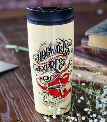 Travel Mug Isotherme Hogwarts Express,  Harry Potter, Boutique Harry Potter, The Wizard's Shop