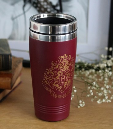 Travel Mug Isotherme Hogwarts,  Harry Potter, Boutique Harry Potter, The Wizard's Shop
