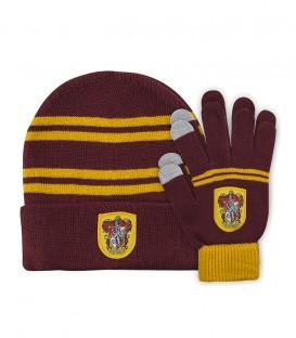 Children's Set Touch Gloves & Hat - Gryffindor