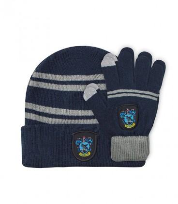Children's Set Touch Gloves & Hat - Ravenclaw