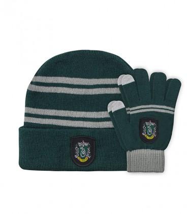 Children's Set Touch Gloves & Hat - Slytherin