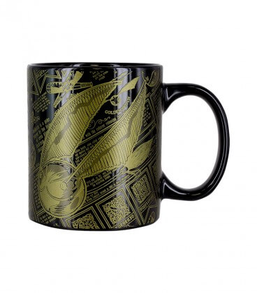 Mug Vif d'Or,  Harry Potter, Boutique Harry Potter, The Wizard's Shop