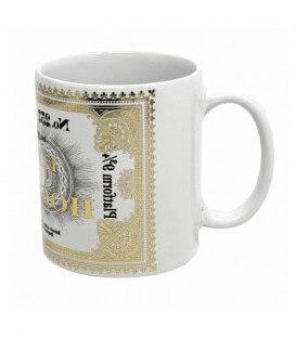 Ticket platform 9 3/4 Gold Foil Mug