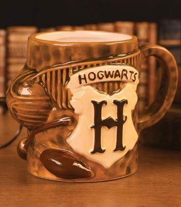 Carved Effect Quidditch 3D Mug